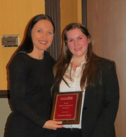 Angela McLean, Lt. Governor & Natalie Black, UM graduate