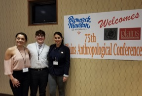 Three UND McNair Scholars Presented at the 75th Annual National Plains Anthropological Conference